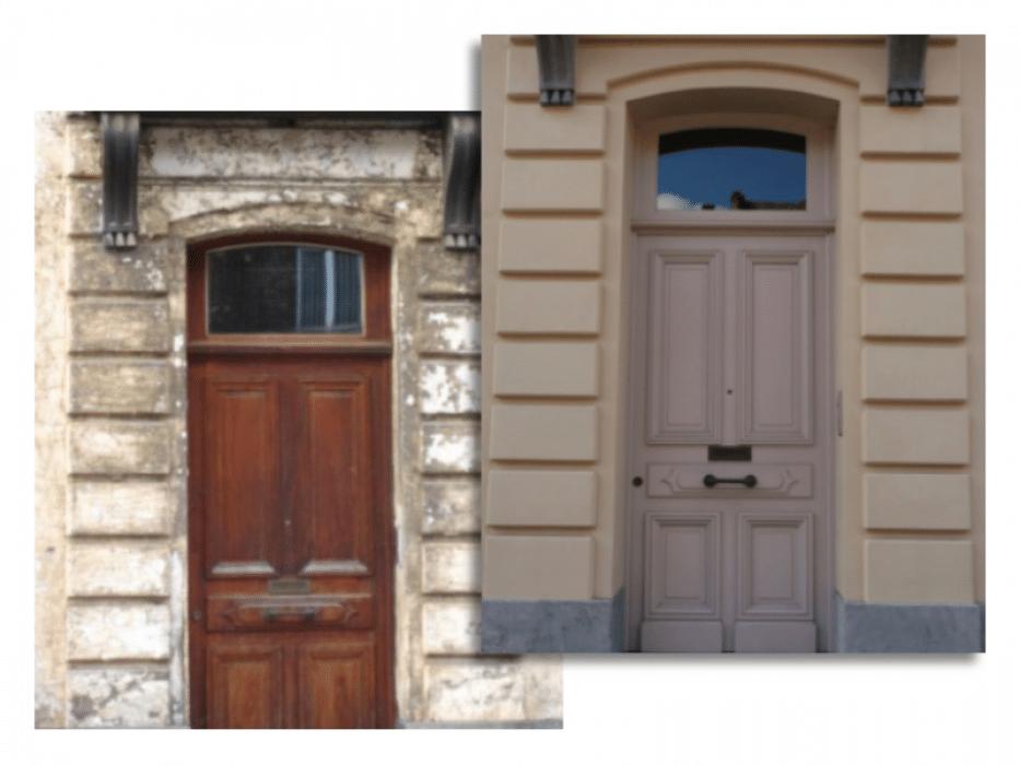 Renovatie gevels en deuren