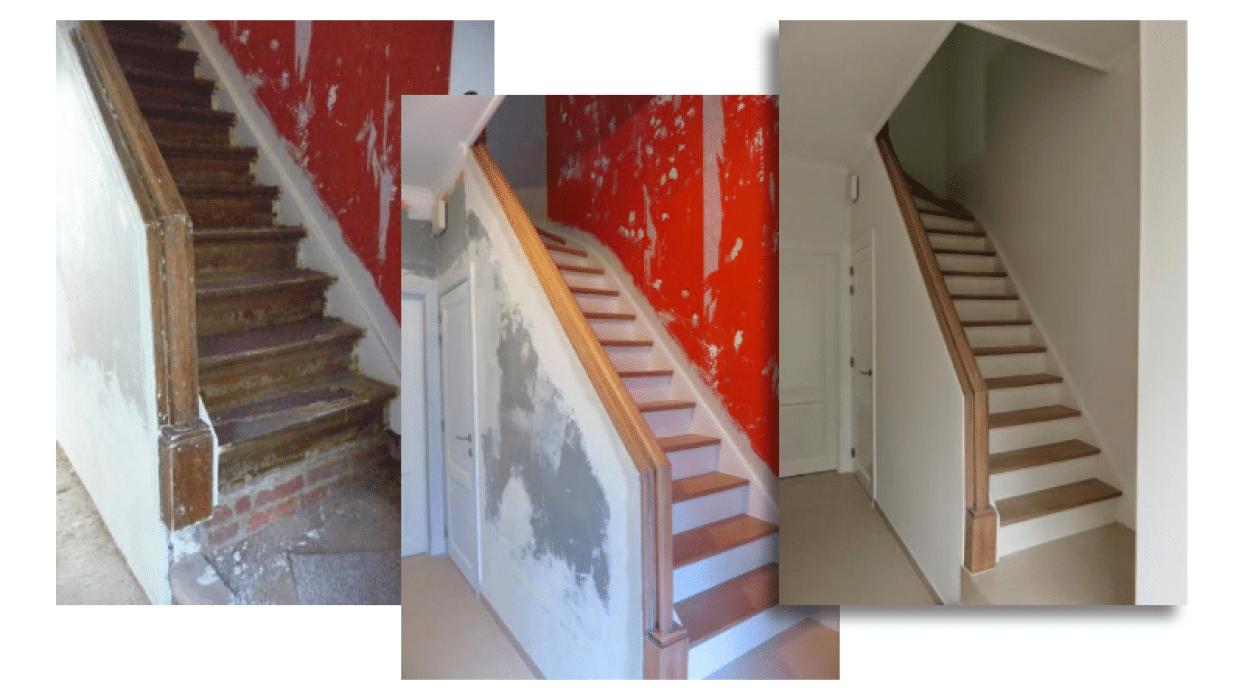 Interieurafwerking: traprenovatie & schilderwerken