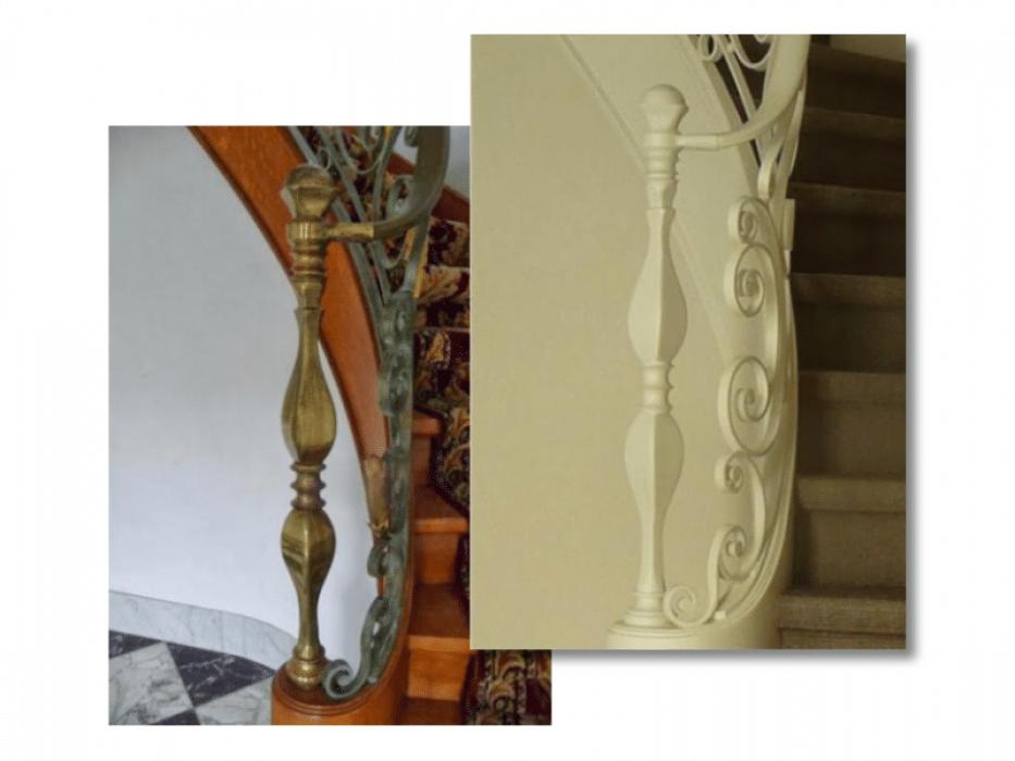 Schilderen trap voor en na
