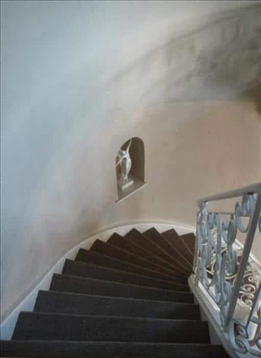 Schilderen trap en traphal, voor...