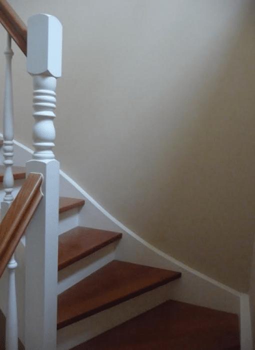 Afwerking trap
