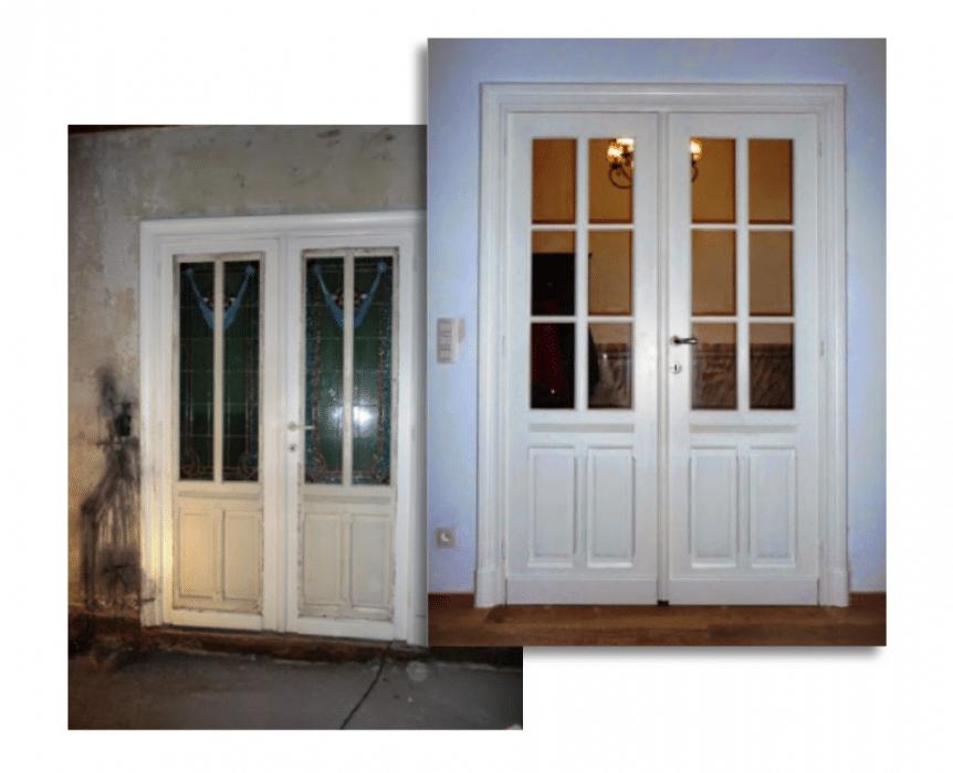 Schilderwerken, restauratie ramen en deuren