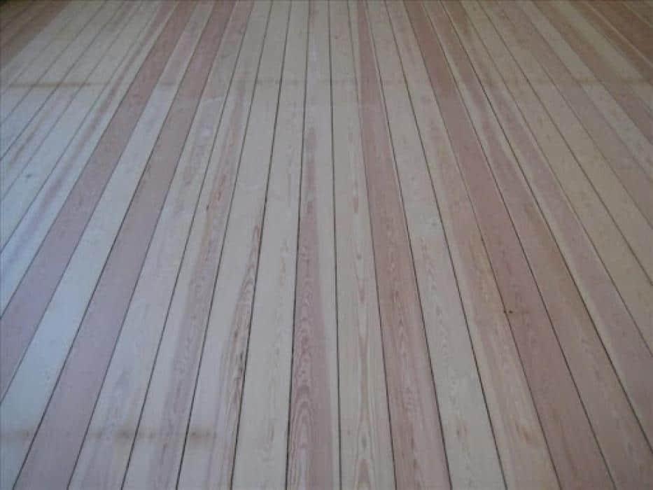Renovatie plankenvloeren
