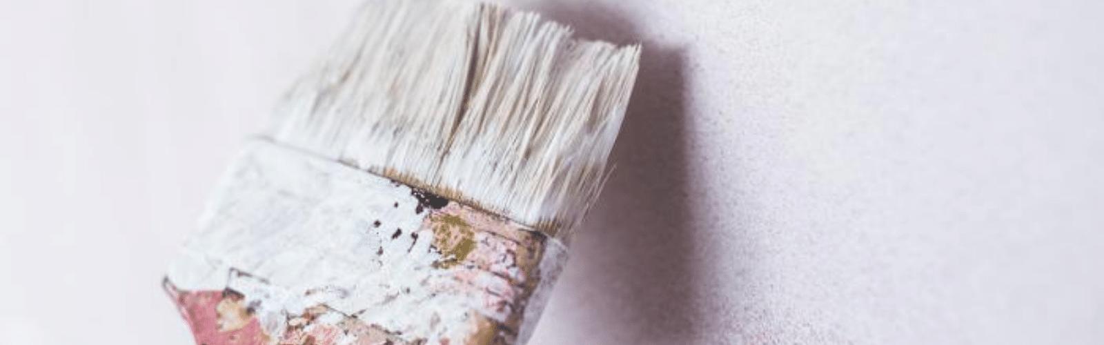 schilderwerken in en rond het huis