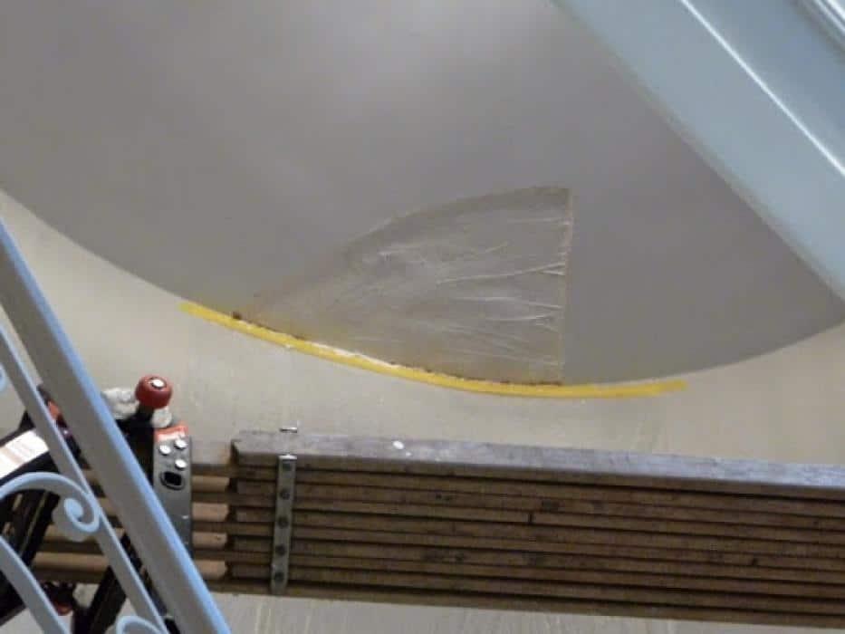 Herstelling plafonds en muren